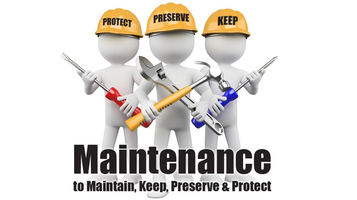 Image result for maintenance